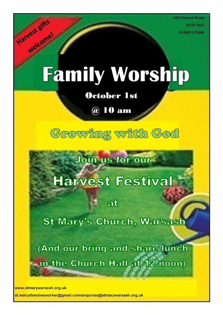 Family Worship @ Church