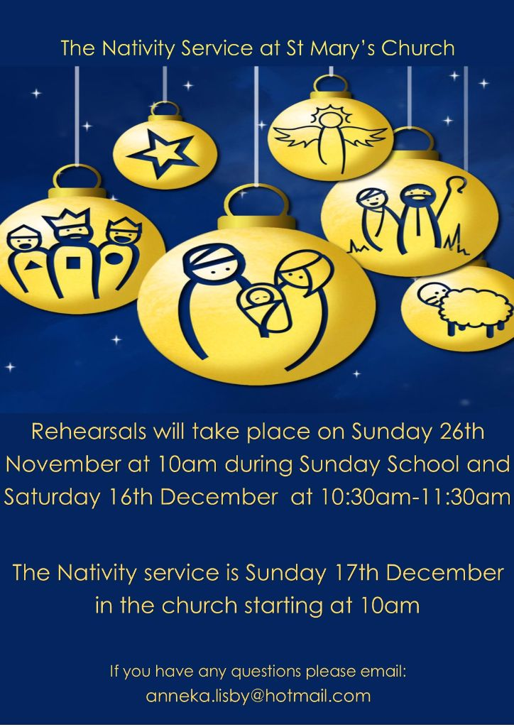 Christmas Nativity Rehearsal @ Church